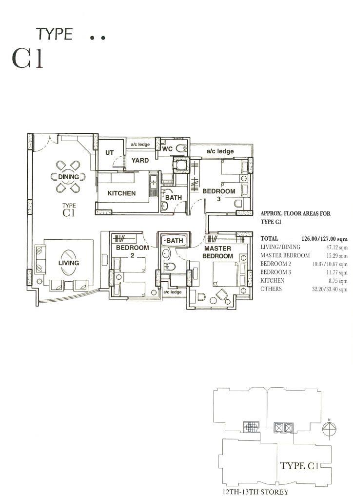 Sold Dunman Place 3 Bedroom 3 Bathroom Home Partners Sg